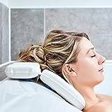Almohada De Bañera | Las Mejores Almohadas De Bañera Para La Cabeza Y Cuello Por Tranquil Beauty Con 7 Ventosas | Cojín…