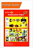 GoColor High Quality Dye Sublimation Transfer Paper 110 GSM A4 /100 Sheets