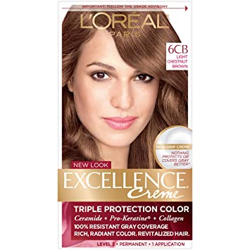 Amazoncom Loréal Paris Excellence Créme Permanent Hair Color 6cb