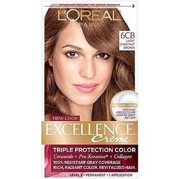 Amazon Com L Oreal Paris Excellence Creme Permanent Hair Color 6cb