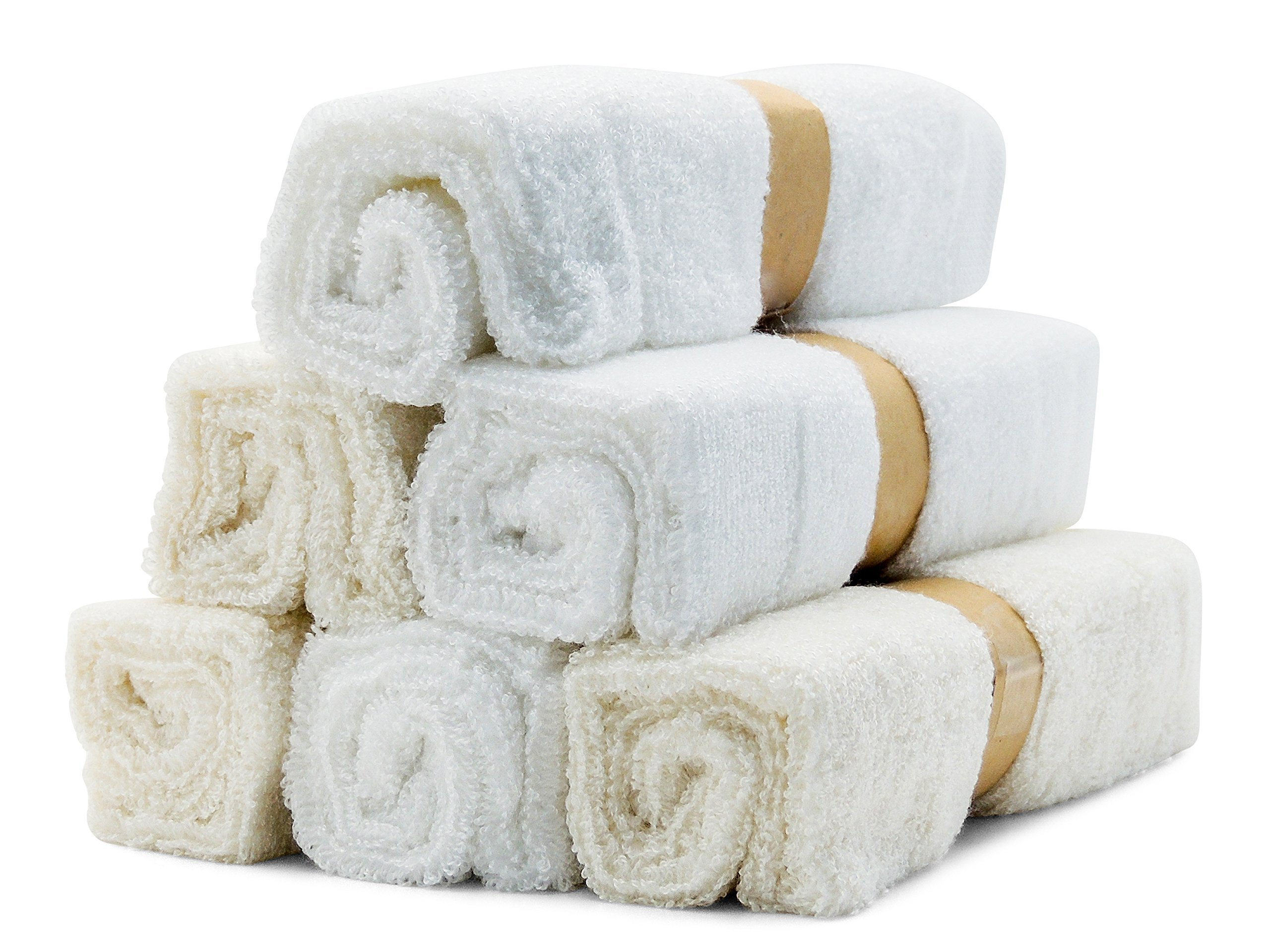 Bamboo Baby Soft Organic Washcloth Towels for Babies by Bamboo Baby