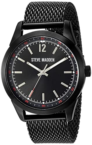 ad9639c42b8 Steve Madden Men s Quartz Metal and Alloy Fashion Watch
