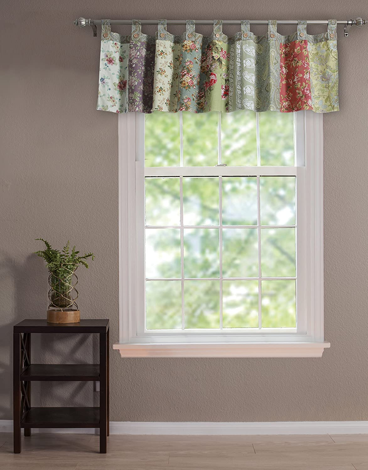 Valance For Kitchen Windows Shop Amazoncom Window Valances