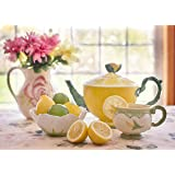 Trending Puzzles Jigsaw Puzzle 1000 Piece Jigsaw Puzzles for Adults Tea with Lemon Great for family game night, puzzle adult night, memory enhancement. Conversation encouraged during assembly!