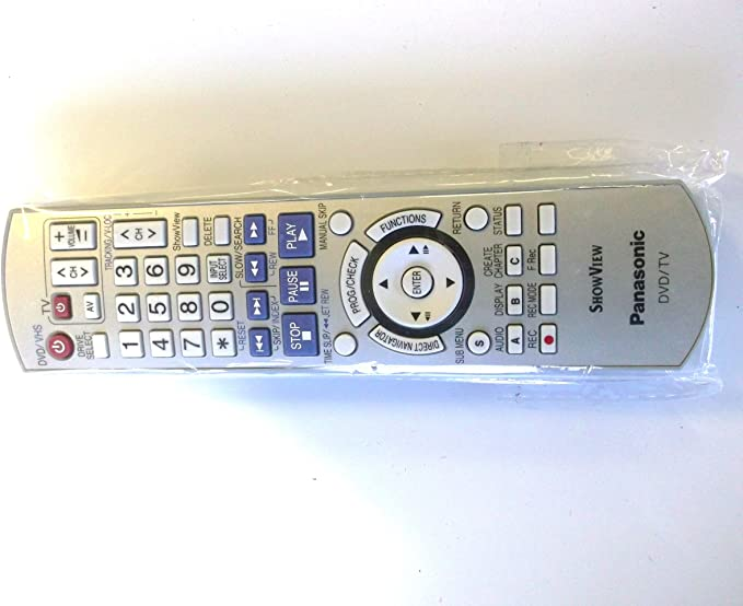 PANASONIC EUR7659YK0 TV DVD SHOWVIEW CONTROL REMOTO * ORIGINAL *: Amazon.es: Electrónica