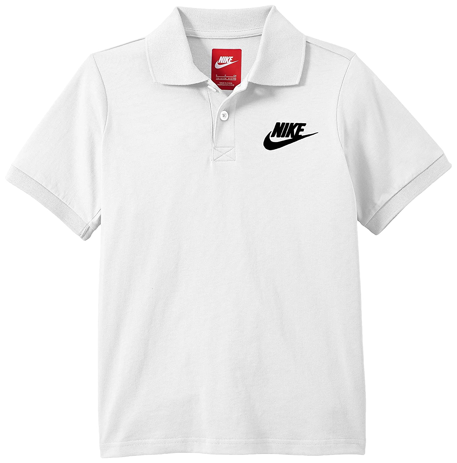 Nike Franchise J Youth - Polo para Hombre, Color Blanco/Negro ...