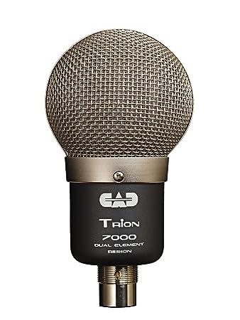 CAD Audio Trion7000 Dual Element Ribbon Microphone: Amazon