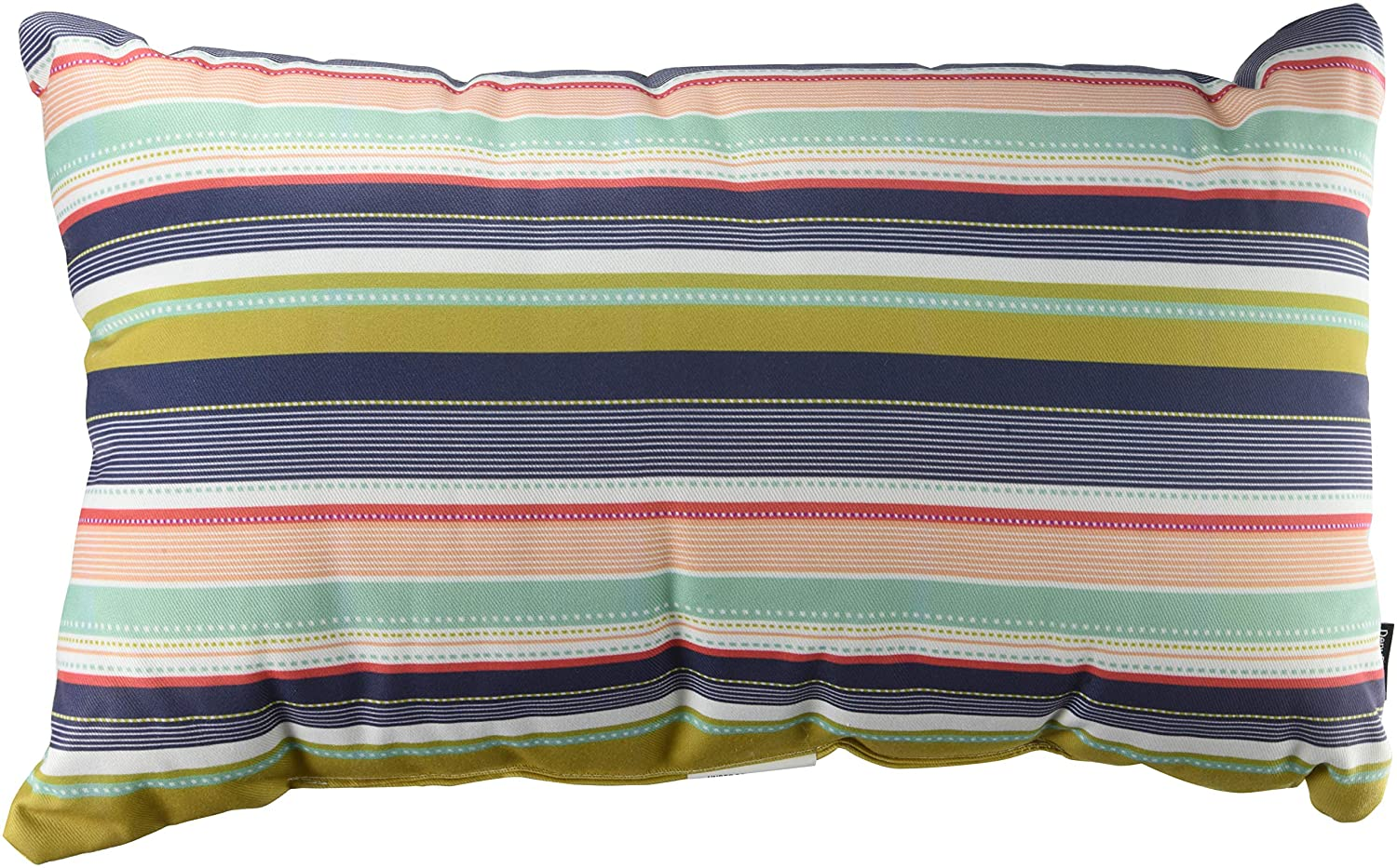 Multi Stripe Deny Designs Wendy Kendall Oblong Throw Pillow