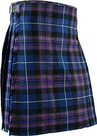 Falda Escocesa Vestido Tierras Altas Tradicional Hombres Kilt ...