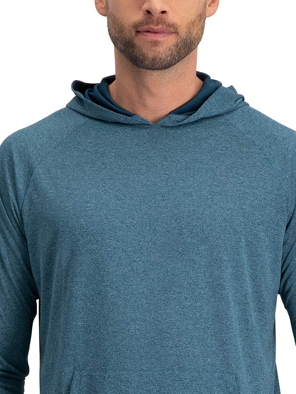 Dry Fit Workout Hoodies for Gym and Running 3//4 Sleeve Lightweight Hoodie Men