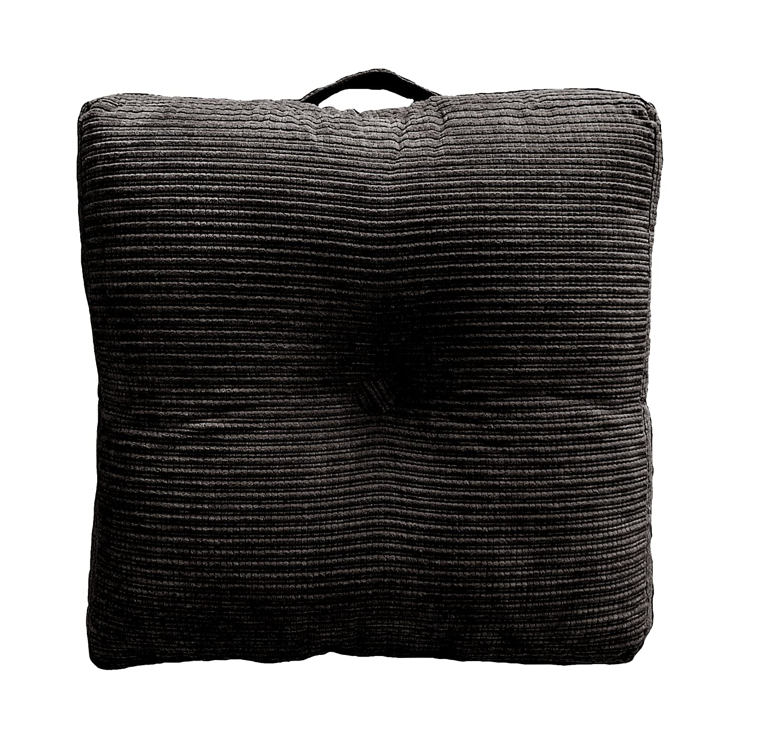 Amazon.com: Elements Perry Oversized Floor Cushion, Midnight: Home ...