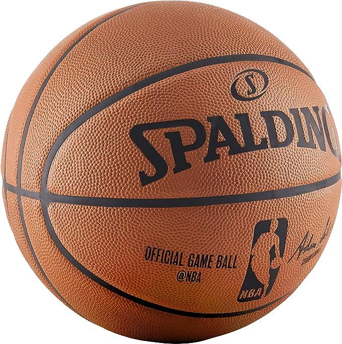 Amazon.com: Spalding NBA - Pelota de fútbol oficial: Sports ...
