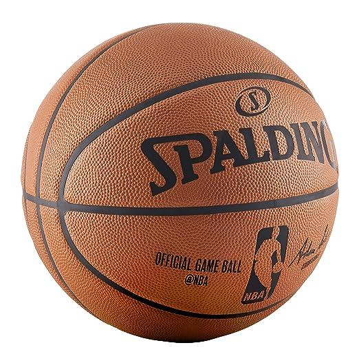 amazon com spalding nba official game basketball sports outdoors