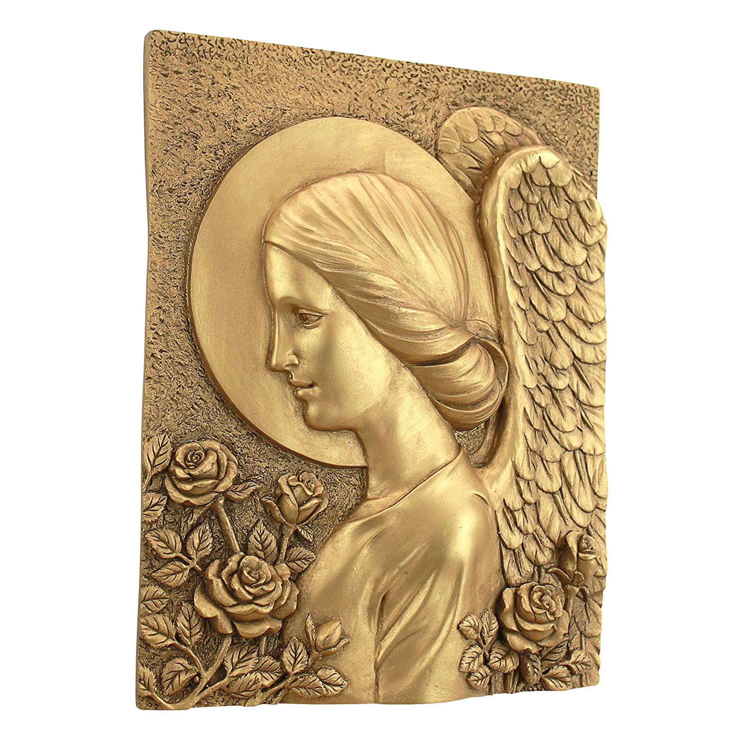 Amazon.com: Design Toscano Brachial the Archangel of Blessings Wall ...