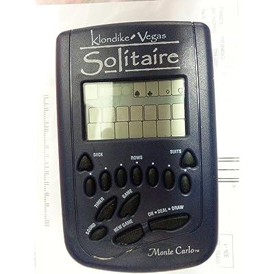 Radica Klondike Vegas Solitaire Monte Carlo Electronic Handheld Game: Toys & Games