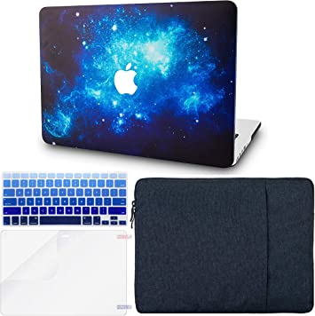 Screen Protector A1466//A1369 KECC MacBook Air 13 Inch Case w//UK Keyboard Cover Plastic Hard Shell Sleeve Rose Gold Sparkling