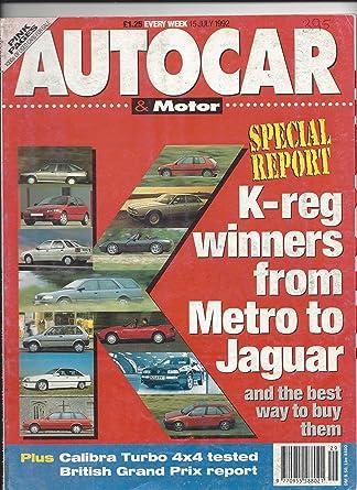 Autocar & Motor Magazine July 15 1992