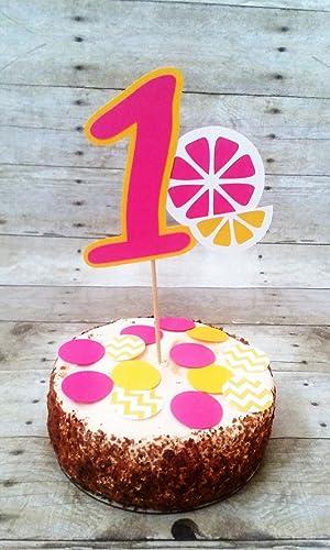 Wondrous Amazon Com Lemonade Cake Topper Party Supplies Cake Funny Birthday Cards Online Drosicarndamsfinfo