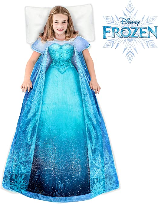 Amazon.com: Blankie Tails   Disney Frozen Elsa Dress Wearable