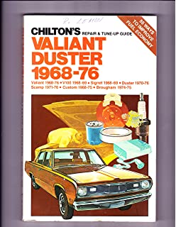 Dodge dartplymouth valiant 6776 haynes repair manuals haynes chiltons repair and tune up guide valiant and duster 1968 76 fandeluxe Gallery