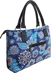 Party Purse – Thermal Insulated Trendy Wine Clutch Tote for Women, Holds Red or White 750ml Wine Bottles (Midnight Shadow)