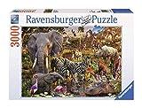Ravensburger African Animals 3000 Piece Jigsaw