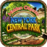 Hidden Objects Central Park New York City Gardens - Object Time Puzzle FREE