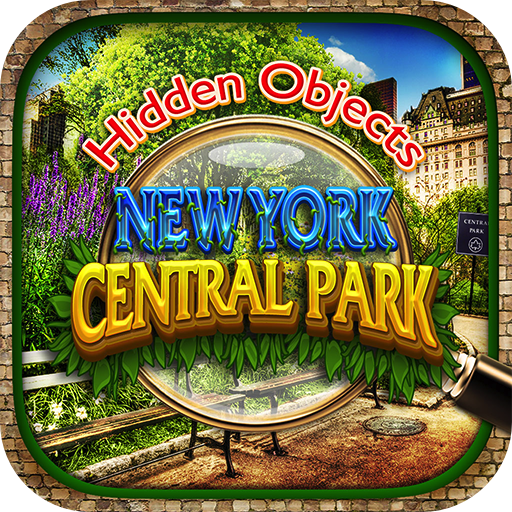 Halloween Falls Park (Hidden Objects Central Park New York City Gardens - Object Time Puzzle FREE Photo Pic Game & Spot the)