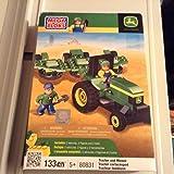Mega Bloks John Deere Tractor and Mower 80831