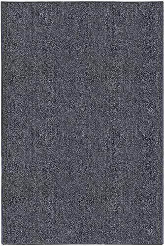 Ambiant Galaxy Way Solid Color Indoor Outdoor Area Rugs Grey – 8 x10
