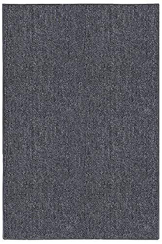 Ambiant Broadway Collection Pet Friendly Indoor Outdoor Area Rugs Grey – 5 x8