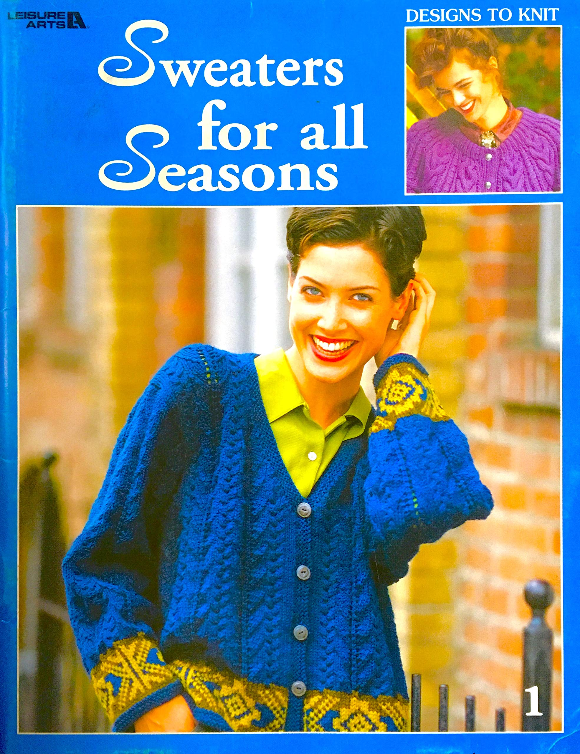 Sweaters with Stripes by Leisure Arts