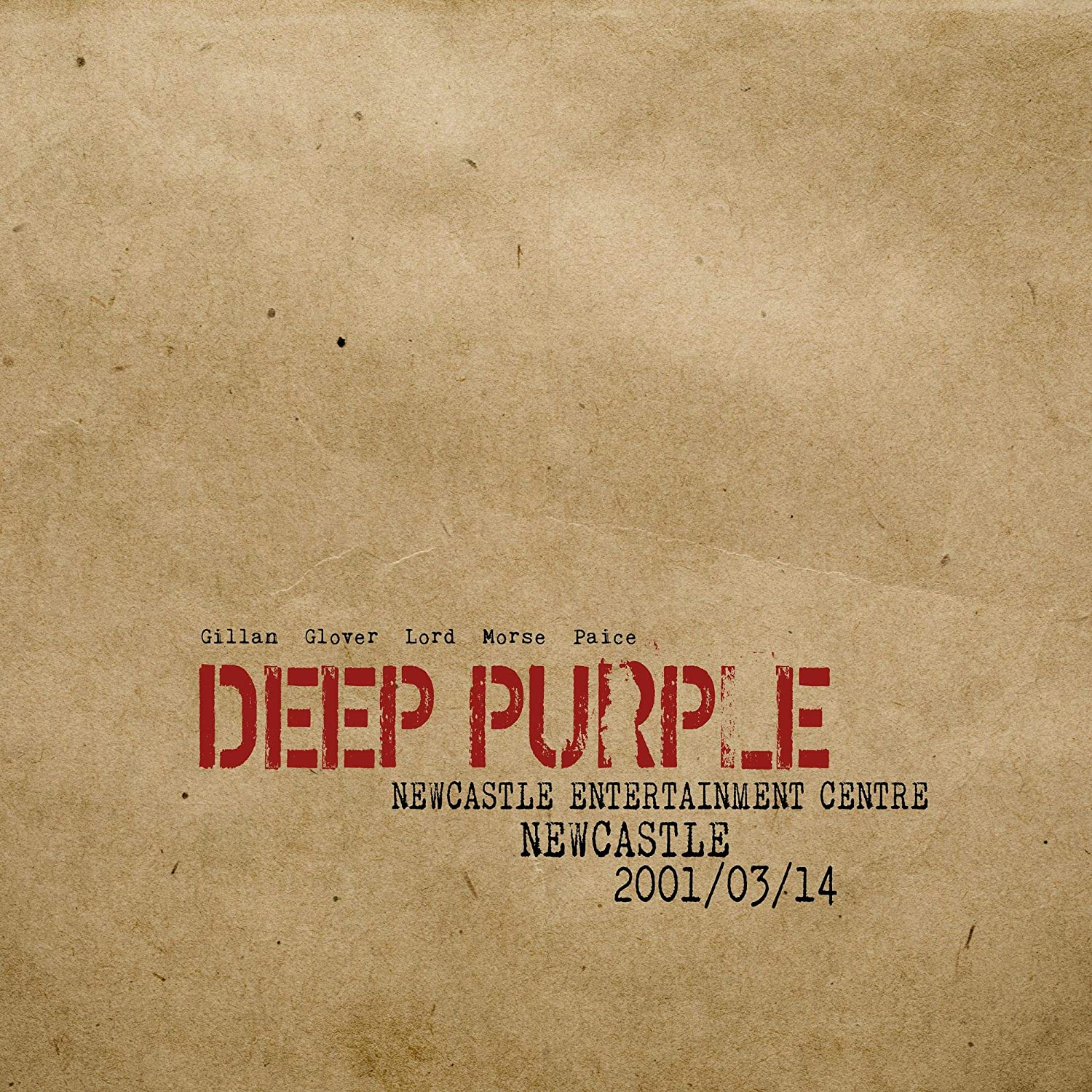 Deep Purple - Live in Newcastle 2001 (2019)