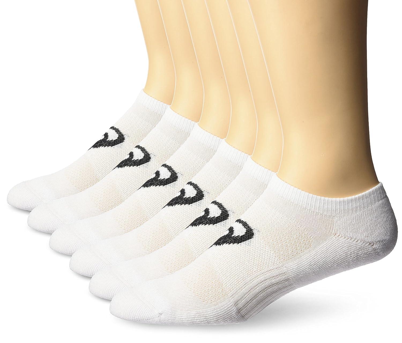 ASICS Invasion No Show Running Socks (6 Pack) ASICS Sports Apparel ZK3186-P