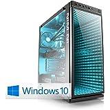 CSL Speed X4949 (Core i9) 4K Gaming PC inkl. Windows 10 - Intel Core i9-7900X 10x 3300MHz, GeForce GTX 1080 Ti, 32GB DDR4 RAM, 1000GB M.2 SSD, 6000GB HDD, USB 3.1