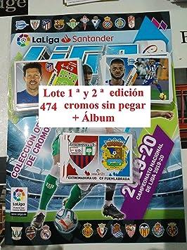 Lote 1 ª y 2 ª edición Completas (Álbum + 474 cromos) Liga Este 2019 2020