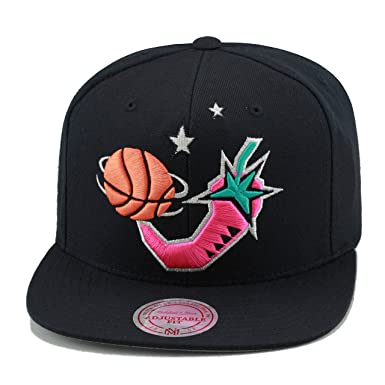 2f7b1a03653 Mitchell   Ness NBA All Star Game 1996 Snapback Hat Black Pink ...