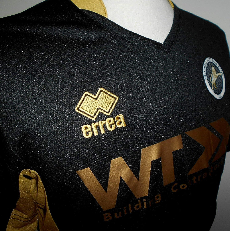 Errea Millwall FC Mens Third Football Shirt 2017-2018