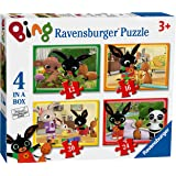 Ravensburger Bing Bunny 4 in a Box (12, 16, 20, 24pc) Jigsaw Puzzles