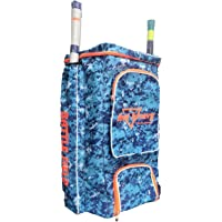 HeadTurners Cricket Kit Bag Professional Player Duffle Backpack Full Size