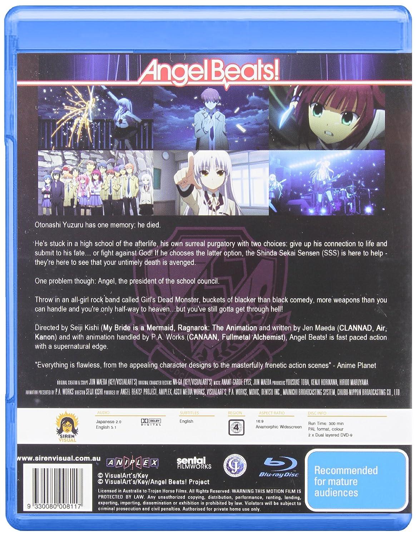 Amazon com: Angel Beats!-Complete Series [Blu-ray]: Angel