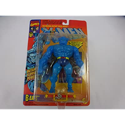 X-Men Beast 1994 Vintage Toy Biz Marvel Action Figure: Toys & Games