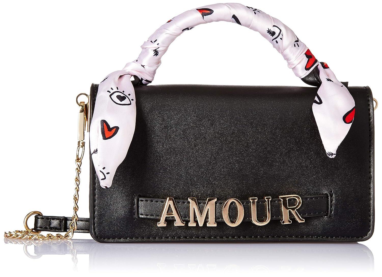 3228cfb8c18 Aldo Women's Satchel (Black): Amazon.in: Shoes & Handbags
