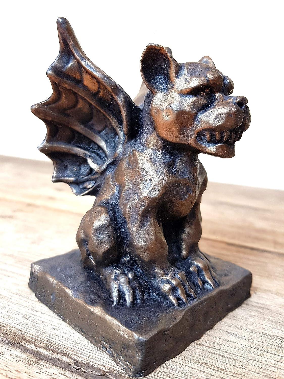 Gargoyle Figurine Decorative Statue Bronze Miniature Figure