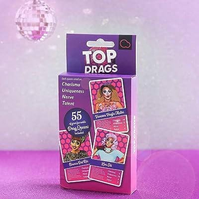 Bubblegum Stuff 19116 Top Drags, Purple: Toys & Games