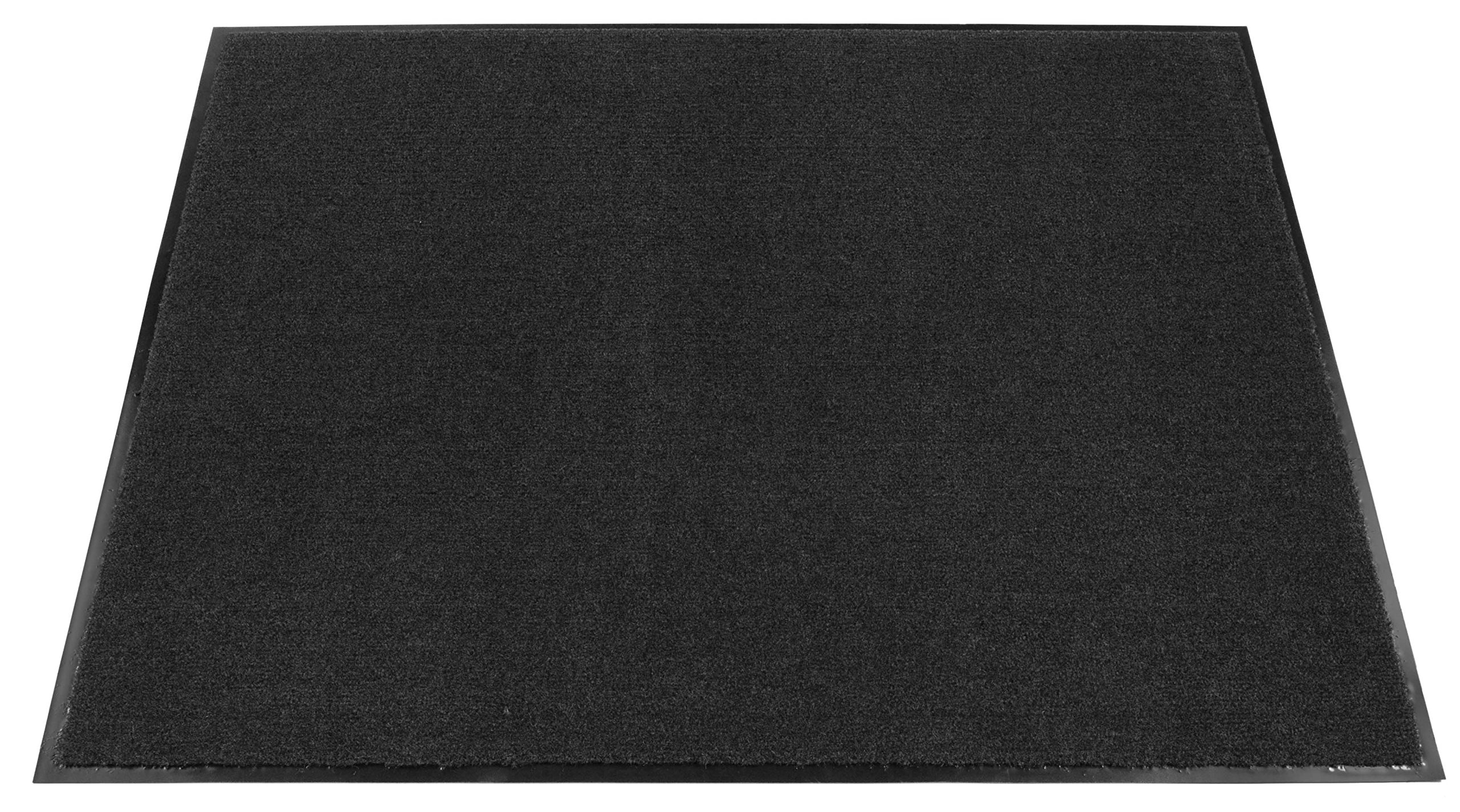 Americo Manufacturing 6107035 Ole Olefin Indoor Pile Carpet Matting, 3' x 5', Heather/Charcoal