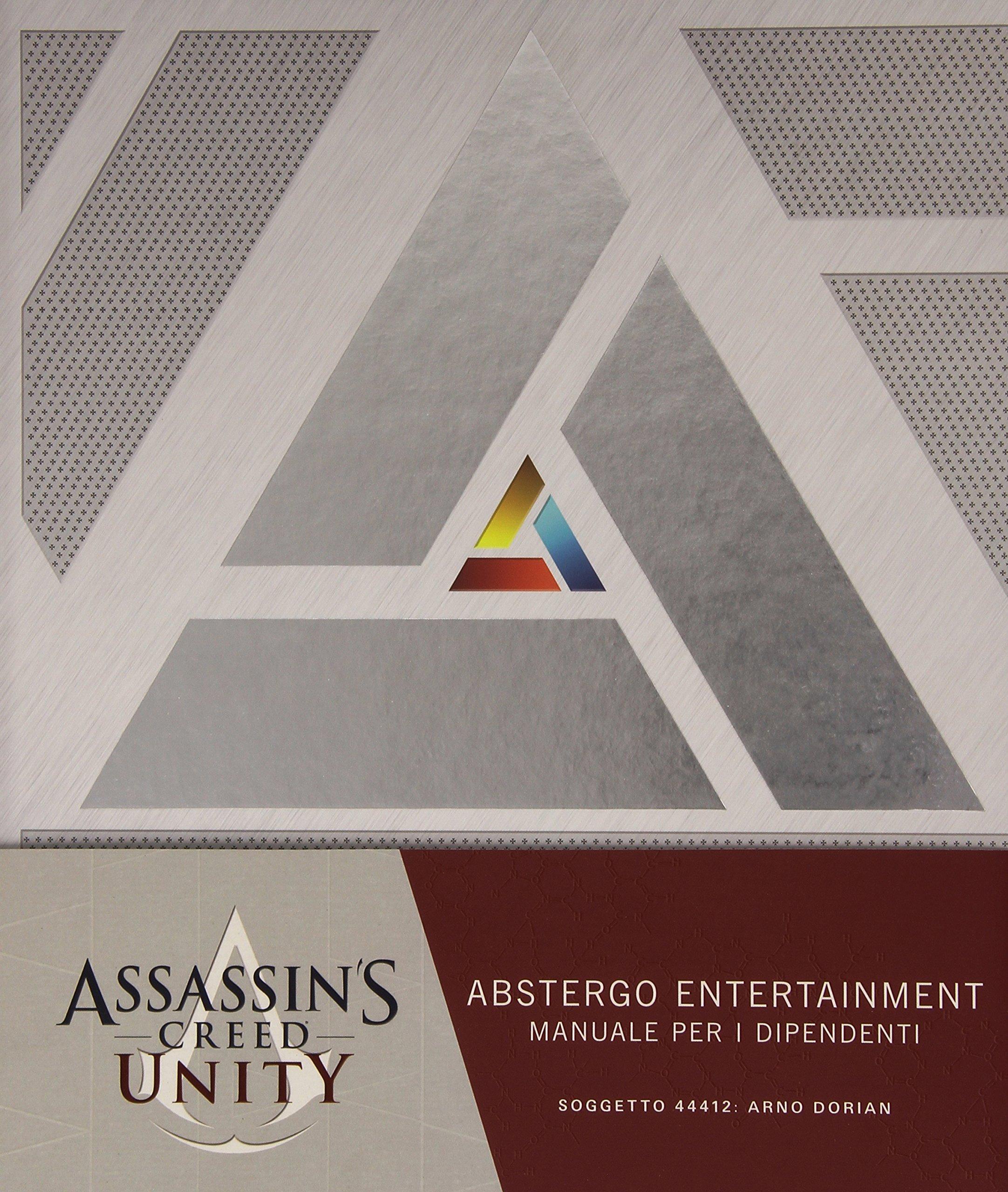 Assassin's Creed Unity. Abstergo Entertainment: manuale per i dipendenti Copertina rigida – 22 apr 2015 V. Vitali Panini Comics 8891209422 Altra non illustrata