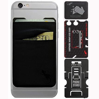 Amazon.com: Gecko - Cartera para teléfono móvil con doble ...