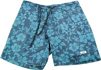ea65c3aaf283b Trunks Surf & Swim Co Men's Beach Street Quick Dry Swim Trunks Navy/Teal