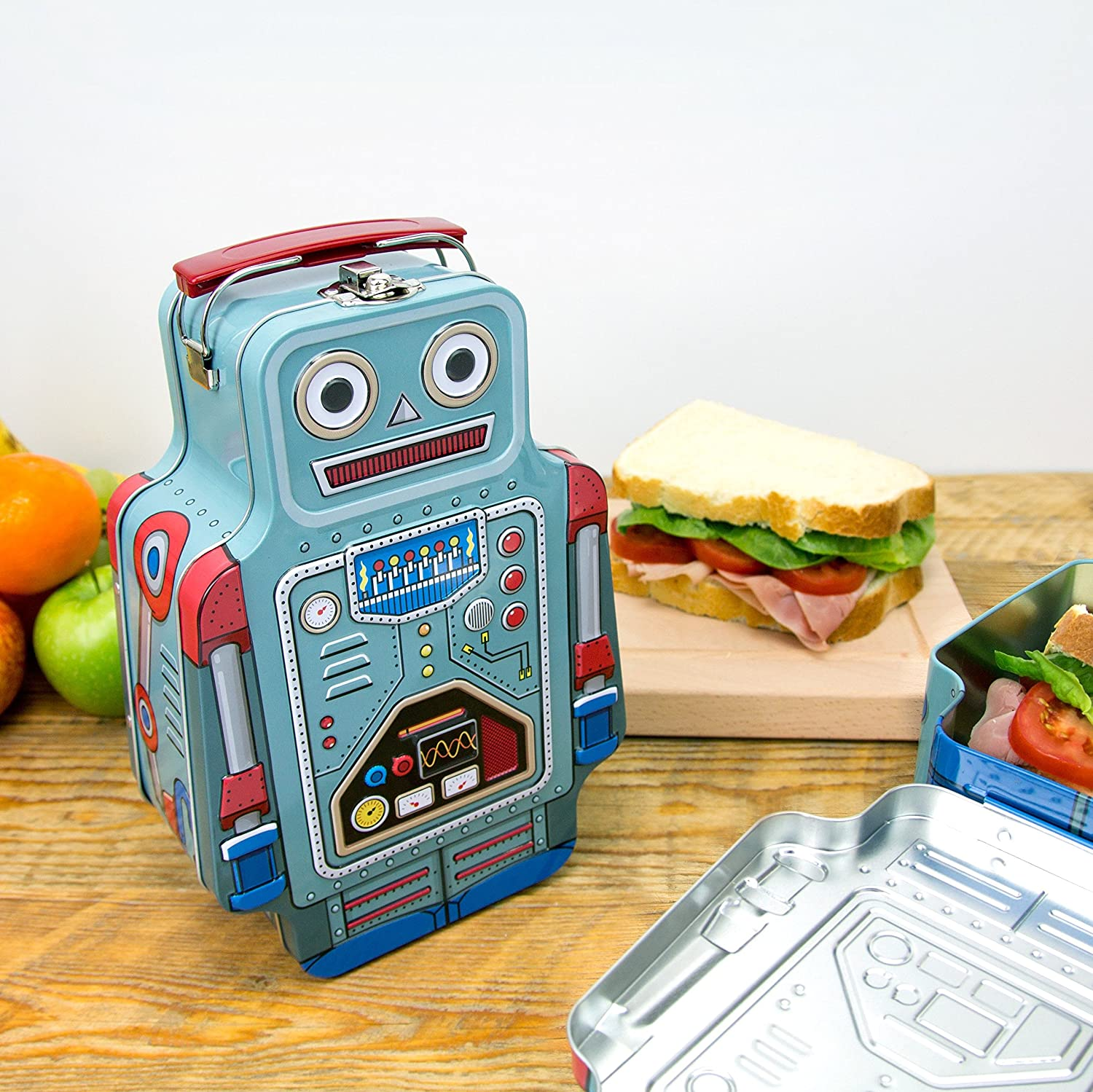 "Suck UK Lunchbox ""Roboter"": Amazon.de: Küche & Haushalt"